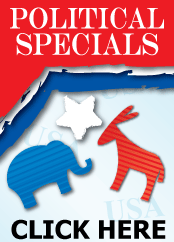 Click Here for Our Political Specials
